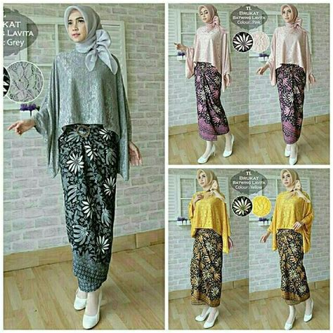 Set Baju Batik Kebayannhijabzizka i m selling lavita baju kurung set baju batwing kain batik for rm125 get it on shopee now