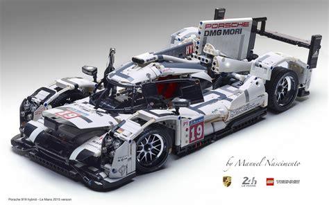 porsche 919 hybrid lego lego technic porsche 919 le mans 2015 v hello