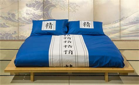 copriletto giapponese set copripiumino kanji federe colore a scelta versione