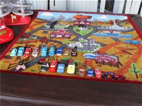 Disney Cars 2 Pit Stop Interactive Rug - disney cars play rug roselawnlutheran