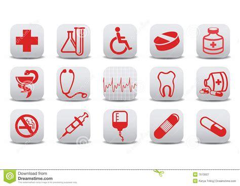 imagenes libres medicina iconos de la medicina fotograf 237 a de archivo libre de