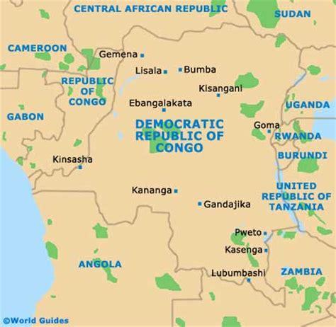 africa map democratic republic of the congo kinshasa tourism capital city democratic republic of the