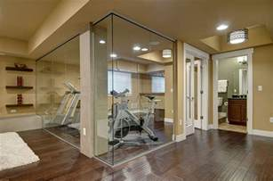 Home Gym Design Companies by Geneva Court Basement Finished Basement Company