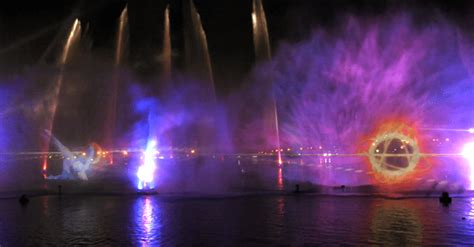 City Water And Light by Imagine Water And Light Show At Dubai Festival City