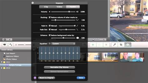 tutorial imovie editing how to imovie editing audio youtube