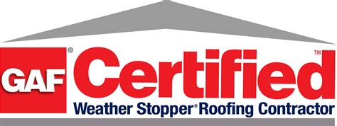 how to get your certified as a service gaf certified weather stopper roofing contractor opal enterprises