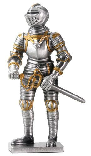 Terlaris Figur Figure Great Warrior Puzzle 4d European Crusader With summit collection gifts