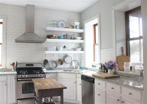 Kitchen Storage Rack Stainless Rak Microwave Rak Dapur Serbaguna 15 beautiful kitchen designs with floating shelves rilane