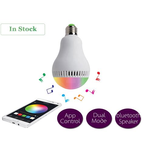 led light bulb speakers led bluetooth light bulb with speaker on sale now