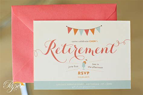retirement invitation designs psd ai eps design