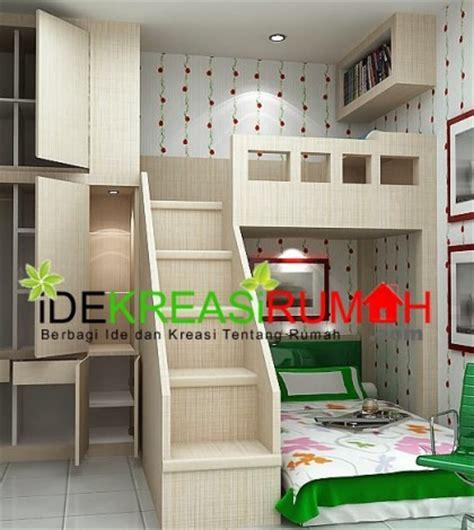 desain interior unik kamar tidur tingkat  anak ide kreasi rumah