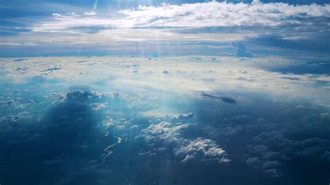 wallpaper clouds  hd wallpaper sky blue river sun