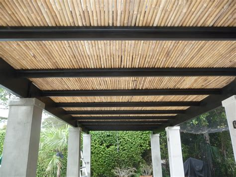 Bamboo Gazebo Roof by Pergola Roofing Design Ideas From The Natural To The