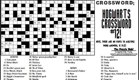 actor who plays aquaman crossword clue the puzzle hub crossword hogwarts crossword 12 final