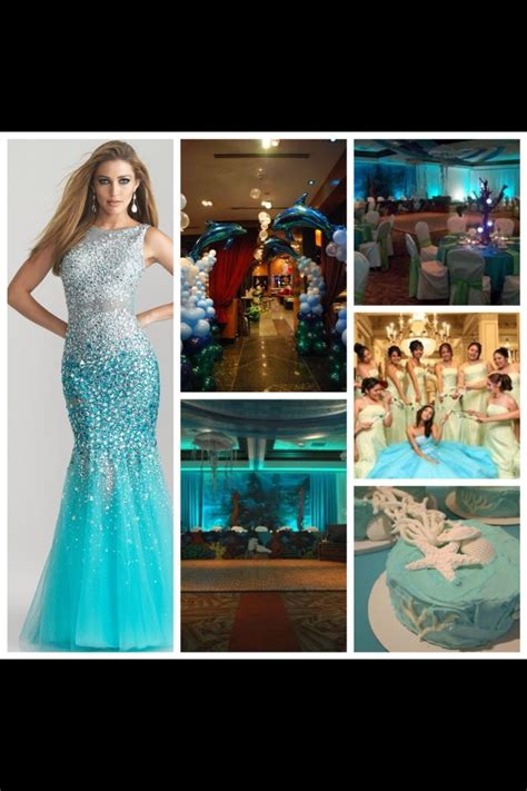 quinceanera themes under the sea quot under the sea quot theme quincea 241 era quincea 241 eros pinterest