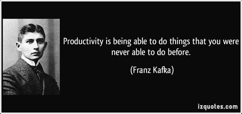 Does Being Never Being Able To Commit by Productivity Is Being Able To Do Things That You Were