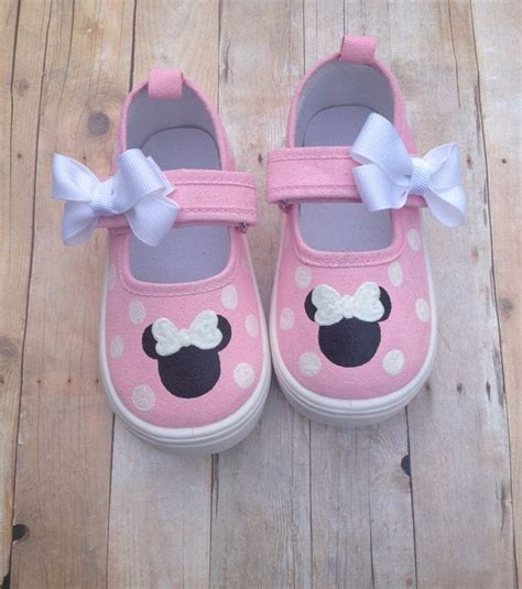 Shoes Import Mouse Pink light pink minnie mouse shoes style painted and toddlers