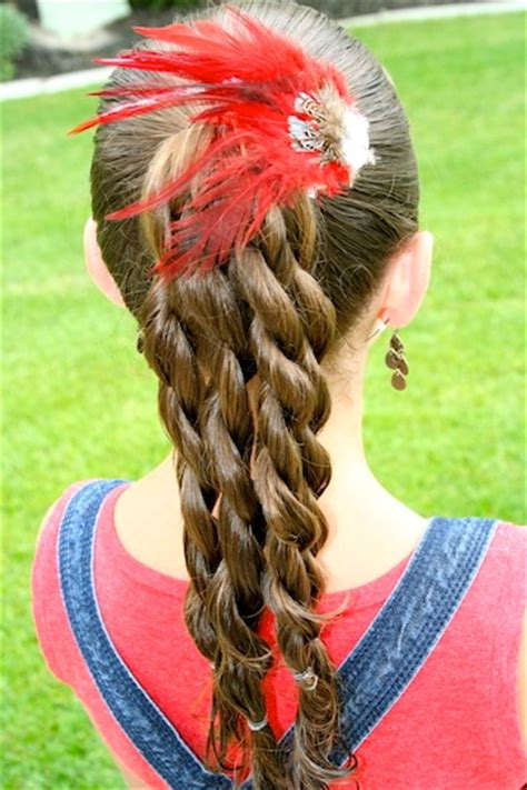 pony up creative ponytail hairstyles page 5 of 5 05 10 minutes cute girls hairstyles page 17