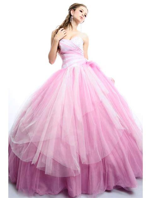 Brautkleider Rosé by Romantische Prinzessin Brautkleider Rosa T 252 Ll Mit Herz