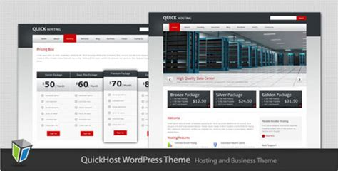 themeforest hosting theme quick host business and hosting wordpress theme