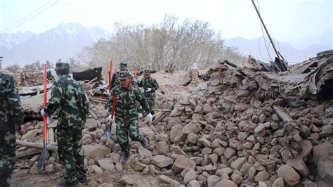 earthquake in china 8 dead 20 injured after moderate quake in far western