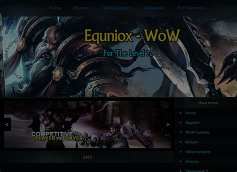 best wow server eu equniox wow world of warcraft gaming top 100 list