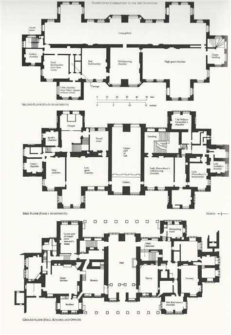find house blueprints english manor house plans google search england