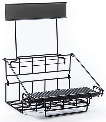 Airpot Rack by Airpot Rack Wire Stand With Sign Holder