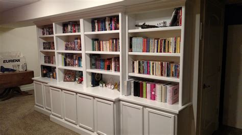 built in shelves and cabinets bookcase carpentry cabinet contractor madrid des moines ia
