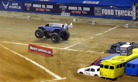 monster truck jam san antonio photos