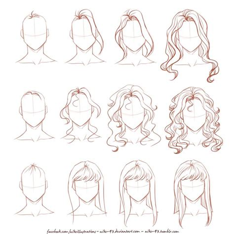 anime hairstyles female tutorial 25 best ideas about manga drawing tutorials on pinterest