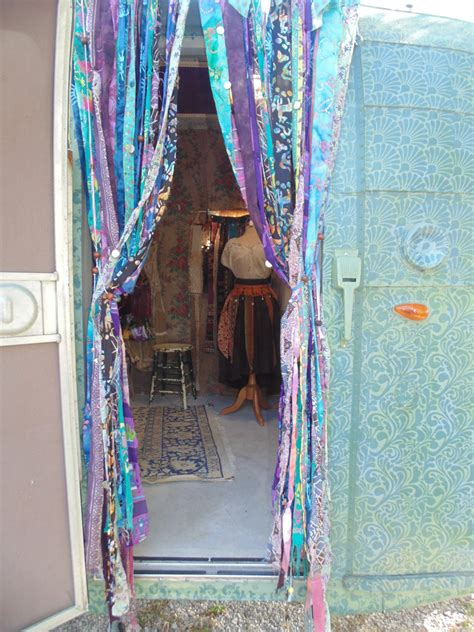bohemian vardo beaded door curtains hippie