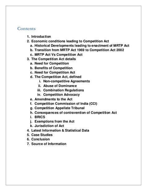 Gsom Mba 5th Year Exemption by The Competition Act India