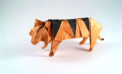 Origami Tiger Easy - origami tigers and leopards page 2 of 2 gilad s