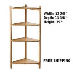 open corner shelves corner shelf unit bamboo wall end cabinet open bathroom