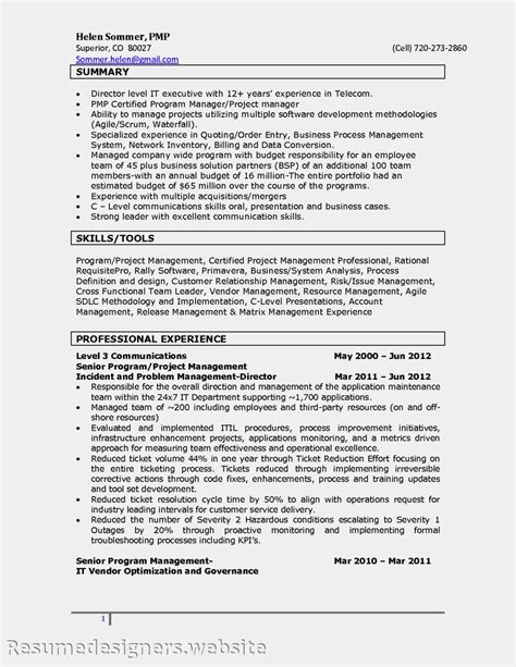 Sle Resume For Itil Professional 28 Itil Certified Resume Vishal Guleria Itil Certified