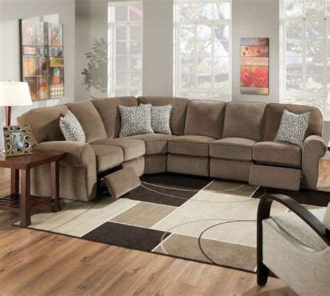 25 best ideas about reclining sectional on
