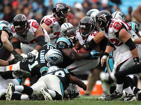 atlanta falcons v carolina panthers zimbio