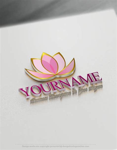 lotus flower logos create a logo free lotus flower logo templates