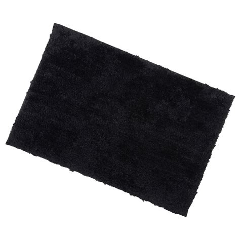 black bathtub mat 40x60cm black tufted microfibre shower bath mat rug non slip backing bamboobliss