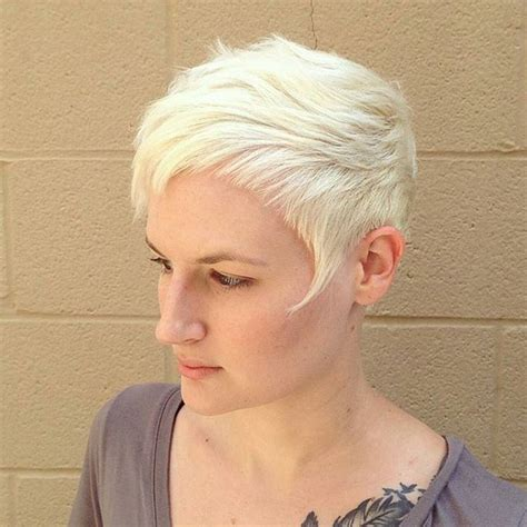 pixie haircut blond fine hair 15 ways to rock a pixie cut with fine hair easy short