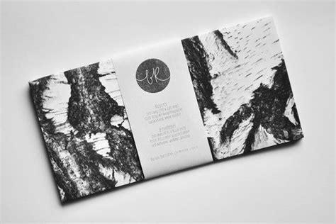 Adressaufkleber Klassisch by 6 Eco Friendly Birch Bark Envelopes Dl Format