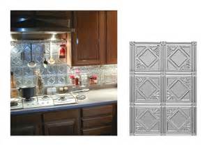Tin Tiles For Backsplash In Kitchen by Kitchen Backsplash Ideas Decorative Tin Tiles Metal