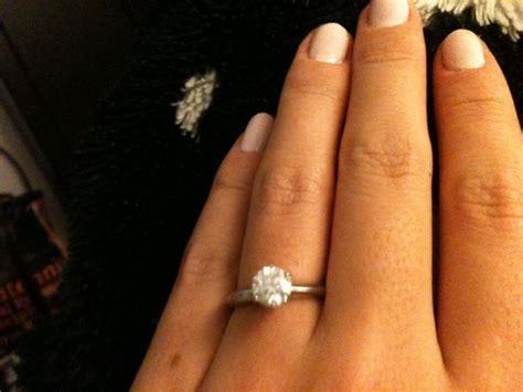 1 carat engagement ring andino jewellery