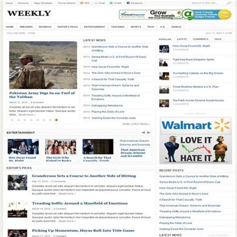 weekly theme junkie free download theme junkie weekly theme review useful
