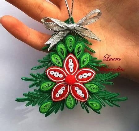 quilled christmas ornament patterns wonderful diy shiny quilled snowflake