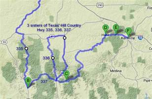 hill country motorcycle rides map the world s catalog of ideas