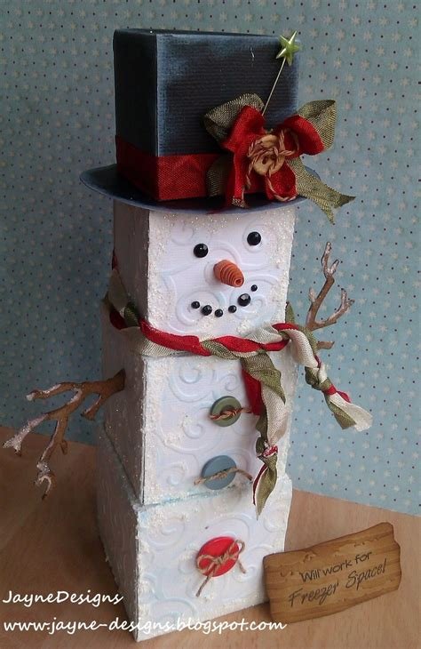 How To Make 3d Snowman Out Of Paper - 17 best images about cricut on cricut cards