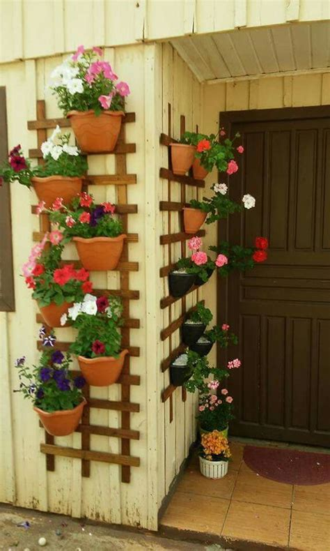 21 clever ideas to adorn garden and yard with terracotta