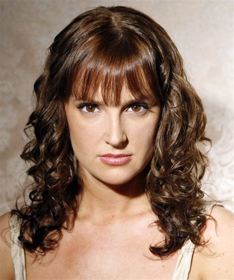 casual hairstyles for brunettes casual curly long brunette hairstyles next globezhair